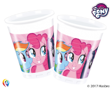 8 My Little Pony Plastic Party Cups